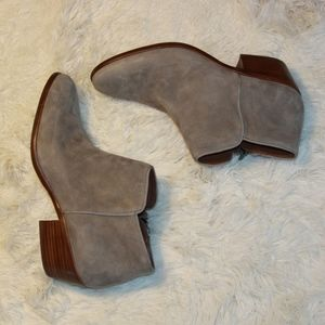 Sam Edelman Petty Chelsea Boot in Putty Suede